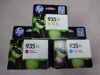 Original Hewlett Packard ink cartridges - HP 934/935XL