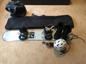 HEAD Snowboard, Boots, Accessories