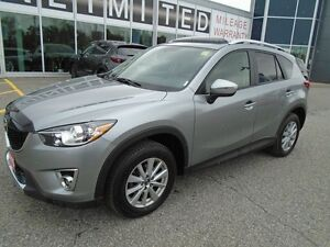 2015 Mazda CX-5 **SUNROOF & BLIND SPOT MONITORING!!** GS AWD
