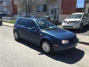 2007 VW GOLF-  AUTOMATIC- 4 portes IMPECABLE- PROPRE- 3700$