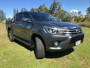 2018 Toyota Hilux GUN126R MY17 SR5 (4x4) Graphite 6 Speed Manual Dual Cab Utility Oakey Toowoomba Surrounds Preview