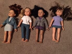 Designer Doll and 5 outfits, the perfect Christmas present