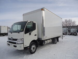 2017 HINO 195 with 16' Van Body - TH21617