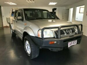 2002 Nissan Navara D22 ST-R (4x4) Silver 5 Speed Manual Dual Cab Pick-up North Toowoomba Toowoomba City Preview