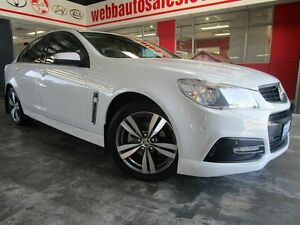 2013 Holden Commodore VF MY14 SV6 White 6 Speed Sports Automatic Sedan Welshpool Canning Area Preview