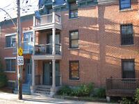 Plateau Mont-Royal, appartement 3e et dernier étage
