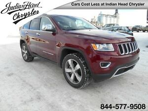 2016 Jeep Grand Cherokee Limited 4x4 | Leather | Cruise Control