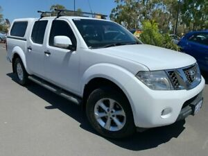 2014 Nissan Navara D40 S7 ST White 5 Speed Sports Automatic Utility East Bunbury Bunbury Area Preview