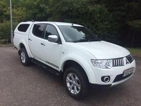 2012 12 MITSUBISHI L200 2.5 DI-D 4X4 WARRIOR NO VAT PICK UP 175 BHP DIESEL