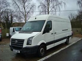 2007 VOLKSWAGEN CRAFTER 2.5 TDI 109PS LWB High Roof Panel Van NO VAT