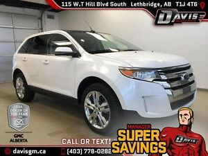 Used 2013 Ford Edge Limited AWD for sale-SUNROOF,LEATHER