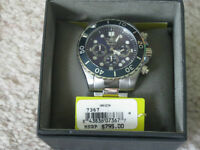 INVICTA CHRONOGRAPH STAINLESS STEEL WITH BLUE DIAL