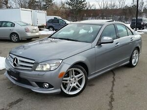 2009 Mercedes-Benz C-Class C350 4 MATIC WITH PANO ROOF
