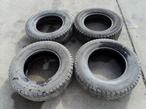 4 Yokohama Winter Tires for Cavalier 195/70/14 Edmonton Edmonton Area image 1