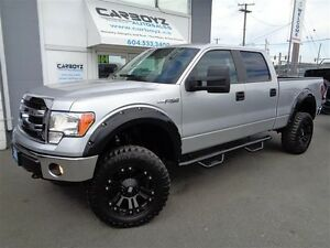 2014 Ford F-150 XTR Crew 4x4, LIFTED, 35 Inch Tires