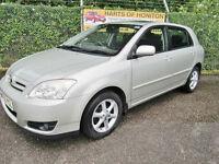 Toyota Corolla 1.4 VVT-i T Spirit 5dr (silver) 2005