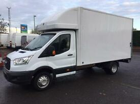 2015 Ford Transit 350 Luton Box van with Taillift White