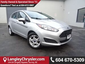 2016 Ford Fiesta SE *ACCIDENT FREE*ONE OWNER*LOCAL BC CAR*