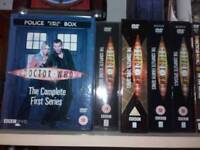 Dr who dvds