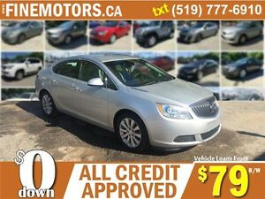 2012 BUICK VERANA * LEATHER * HEATED SEATS * CAR LOANS FOR ALL