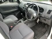 2012 Toyota Hilux KUN16R MY12 SR Double Cab 4x2 White 5 Speed Manual Utility Robina Gold Coast South Preview