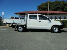 2008 Toyota Hilux KUN16R MY08 SR Utility White 5 Speed Manual Dual Cab Welshpool Canning Area Preview