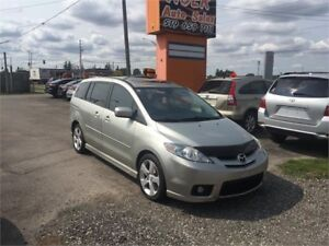 2007 Mazda Mazda5 GT***4 Cylinder**LEATHER**DVD****ONLY 138 KMS