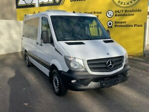 2015 Mercedes-Benz Sprinter NCV3 316CDI Low Roof MWB 7G-Tronic Transfer White 7 Speed Invermay Launceston Area Preview