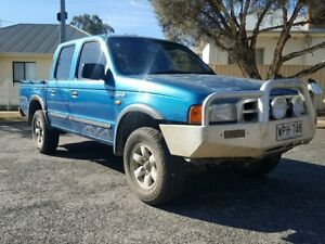 2001 Ford Courier PE GL Crew Cab 5 Speed Manual Utility
