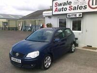 2009 59 VOLKSWAGEN POLO MATCH 1.2L ONLY 8,152 MILES - FULL SERVICE HISTORY - 1 O