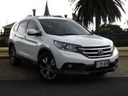 2013 Honda CR-V RM MY14 VTi-L 4WD White 5 Speed Sports Automatic Wagon Medindie Gardens Prospect Area Preview