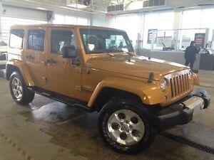 2014 Jeep Wrangler Unlimited Sahara 4x4 Navi, Leather, Removable
