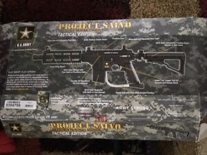 Project Salvo .68 Cal. Paintball GUN with Accessories