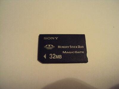 SANDISK MEMORY CARD 32MB STICK PRO DUO SONY ERICSSON W810,W810I,S700I,K750I,W850