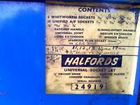 halfords universal socket set