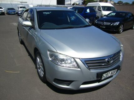 2010 Toyota Aurion GSV40R MY10 AT-X Silver 6 Speed Sports Automatic Sedan Melrose Park Mitcham Area Preview