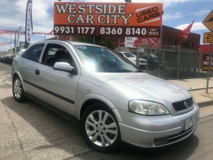 2001 Holden Astra TS SRi Silver 5 Speed Manual Hatchback Laverton Wyndham Area Preview
