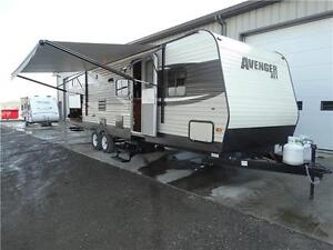 Used Travel Trailer with bunks