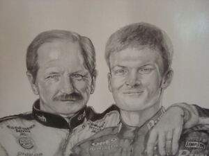 Dale Sr and Jr print Cambridge Kitchener Area image 2