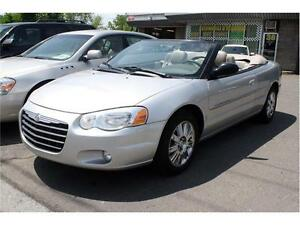 2004 CHRYSLER SEBRING LIMITED CONVERTIBLE GARANTIE 12 MOIS