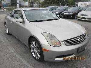 2004 Infiniti G35 Coupe only 117kms E-TESTED & SAFETY