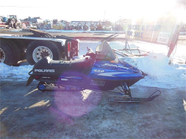 2000 Polaris Indy Super Sport 550 Snowmobile