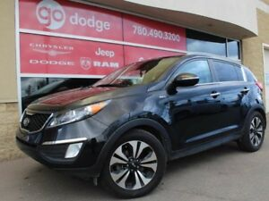 2013 Kia Sportage SX AWD / GPS Navigation / Sunroof / Back Up Ca