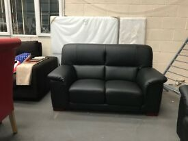 BRAND NEW - SALE NOW ON ALL SUITES - MADRID LEATHER SET - 3&2 SEATER SETS - FIRM & COMPACT