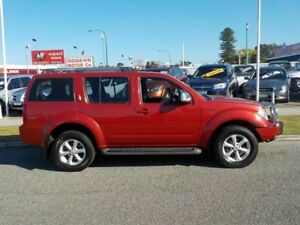 2008 Nissan Pathfinder R51 MY08 ST-L Red 5 Speed Automatic Wagon