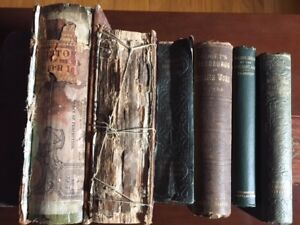 Early editions of late 19th early 20th century books. TLC needed
