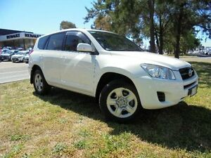 2012 Toyota RAV4 ACA33R 08 Upgrade CV (4x4) White 4 Speed Automatic Wagon Belconnen Belconnen Area Preview