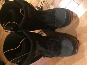 2 Pairs of Snowboard Boots for Sale