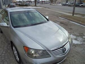 2008 Acura RL Tech Pkg AWD TOP OF THE LINE US VEHICLE 116000 MIL