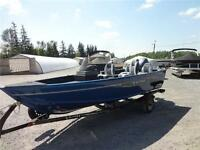 Lund 1625 Fury XL Package with a 60 HP Yamaha 4-Stroke